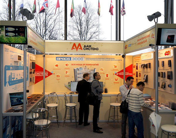 Стенд компании ААМ Системз на форуме All-over-IP 2013